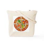 Celtic Autumn Leaves Tote Bag