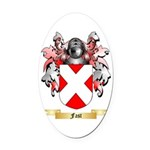 Fast Oval Car Magnet