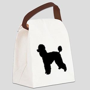 poodle 3 Canvas Lunch Bag
