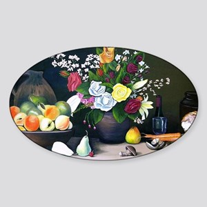 The Country Table Sticker (Oval)