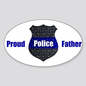 Proud Police Father Sticker