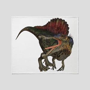 Spinosaurus Throw Blanket