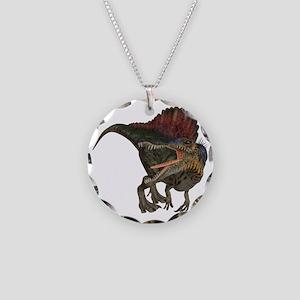 Spinosaurus Necklace Circle Charm