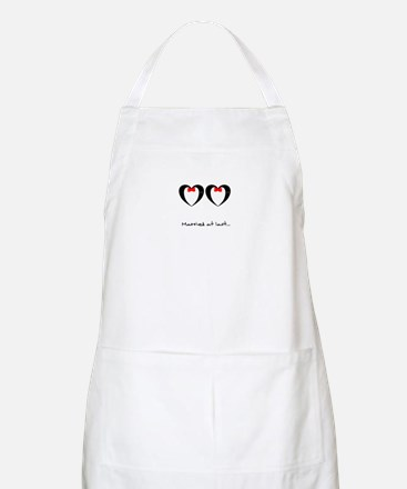 Married at last Gay Wedding Apron