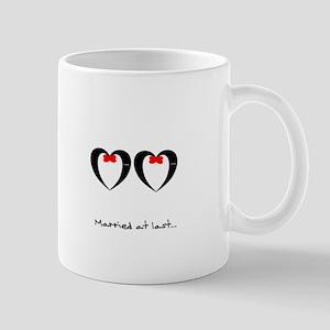 Married at last Gay Wedding Mugs