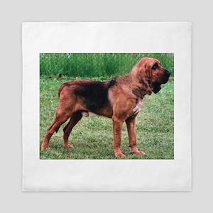 bloodhound full Queen Duvet
