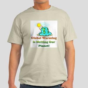 Melting Earth Light T-Shirt