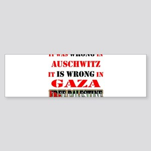 WrongisWrong Bumper Sticker