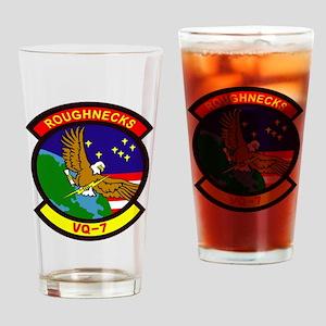 VQ 7 Roughnecks Drinking Glass