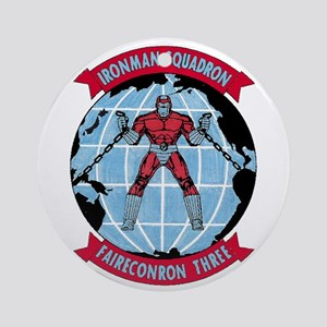 VQ 3 Ironman Ornament (Round)