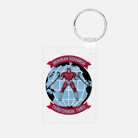 VQ 3 Ironman Keychains