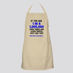 6,000 people just like you Apron