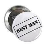 "Best Man Stamp 2.25"" Button (10 pack)"