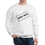 Best Man Stamp Sweatshirt