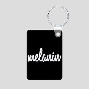 Melanin Aluminum Photo Keychain