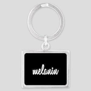 Melanin Landscape Keychain
