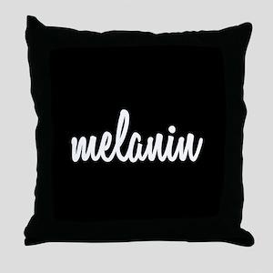Melanin Throw Pillow