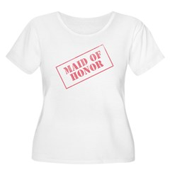 Maid of Honor Stamp T-Shirt