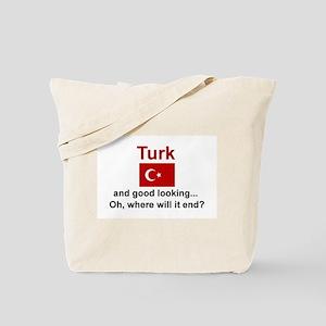 Good Looking Turk Tote Bag