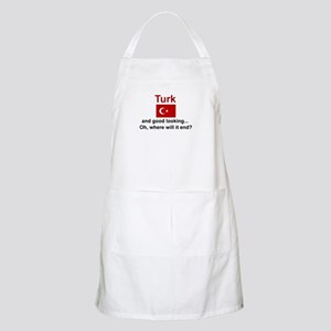 Good Looking Turk BBQ Apron