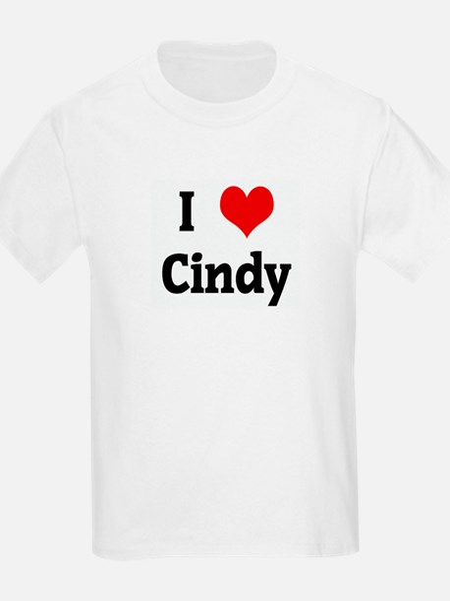I Love Cindy T-Shirt