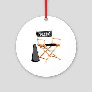 Director Ornament (Round)