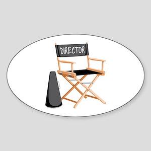 Director Sticker