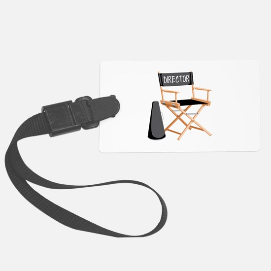 Director Luggage Tag
