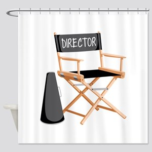 Director Shower Curtain