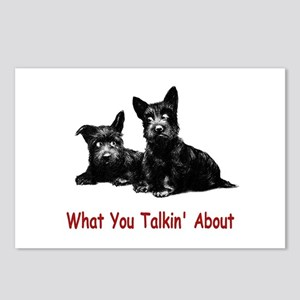 WHAT YOU TALKIN' ABOUT Postcards (Package of 8)