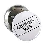 Groomsman Stamp Button