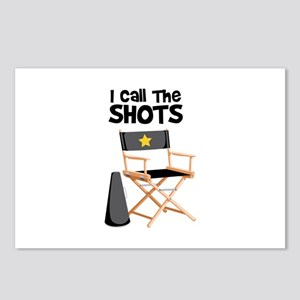 I Call the Shots Postcards (Package of 8)
