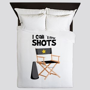 I Call the Shots Queen Duvet