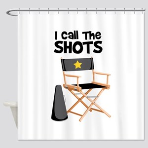 I Call the Shots Shower Curtain
