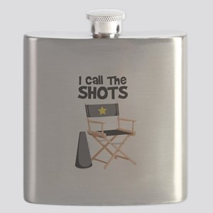 I Call the Shots Flask