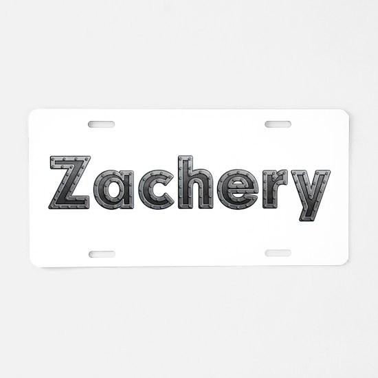 Zachery Metal Aluminum License Plate