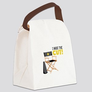 I Made the Cut Canvas Lunch Bag