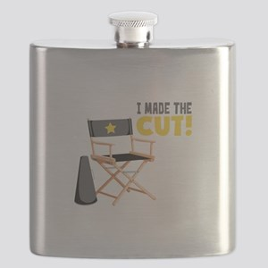 I Made the Cut Flask