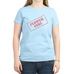 Flower Girl Stamp Women's Light T-Shirt
