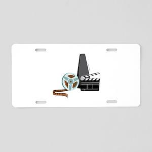 Hollywood Film Movie Aluminum License Plate