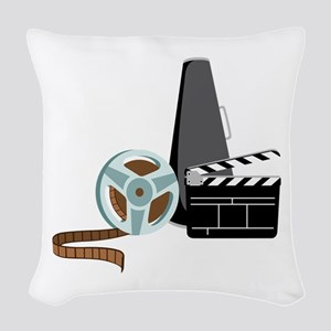 Hollywood Film Movie Woven Throw Pillow
