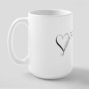 Never Apart Large Mug