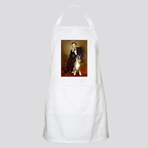 Lincoln & his Boxer Apron
