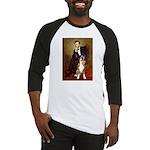 Lincoln & his Boxer Baseball Jersey
