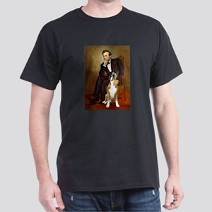 Lincoln & his Boxer Dark T-Shirt