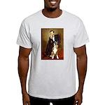 Lincoln & his Boxer Light T-Shirt