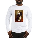 Lincoln & his Boxer Long Sleeve T-Shirt