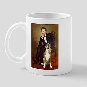 Lincoln & his Boxer Mug