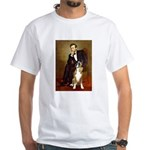 Lincoln & his Boxer White T-Shirt