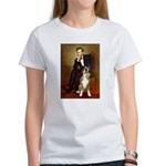 Lincoln & his Boxer Women's T-Shirt